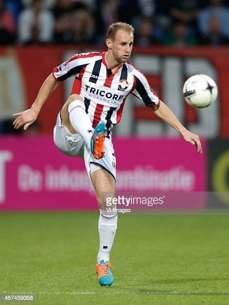 Frank van der Struijk of Willem II during the Dutch Eredivisie match between Willem II Tilburg and Vitesse Arnhem at Koning Willem II stadium on...