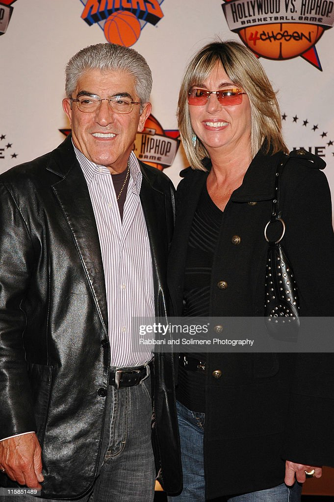 Frank Vincent and guest during 1st Annual 4Chosen Celebrity Basketball Game at Basketball City Basketball City in New York New York, New York New York, United States.
