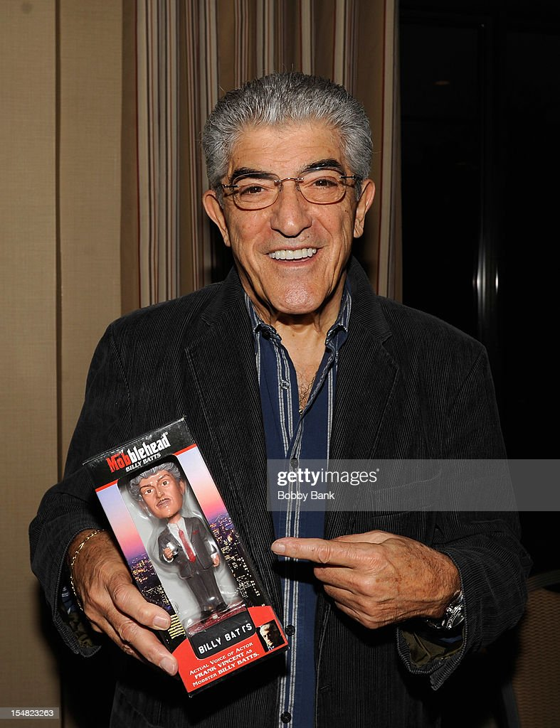<a gi-track='captionPersonalityLinkClicked' href=/galleries/search?phrase=Frank+Vincent&family=editorial&specificpeople=606645 ng-click='$event.stopPropagation()'>Frank Vincent</a> attends the 2012 Chiller Theatre Expo at the Sheraton Parsippany Hotel on October 26, 2012 in Parsippany, New Jersey.
