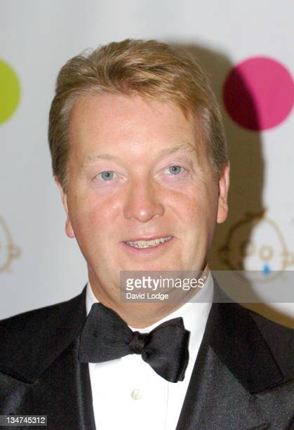 Frank Warren during Sporting Heroes Dinner in Aid of Great Ormond Street Hospital October 27 2005 at The Dorchester in London Great Britain