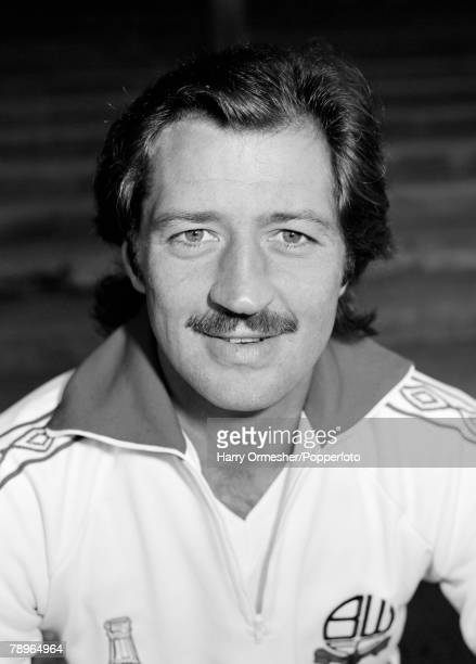 August 1978 Bolton Wanderers FC Photocall A portrait of Frank Worthington
