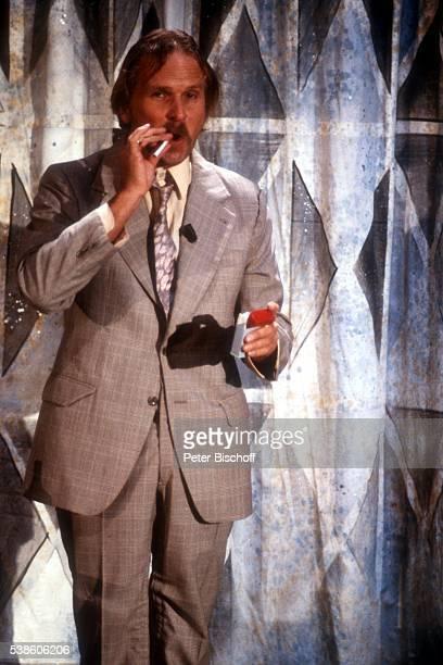 Frank Zander ARDShow 'Die Superlachparade 1988' am in Deutschland