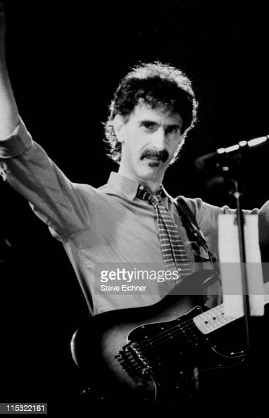Frank Zappa 1988 during Frank Zappa in Concert at Beacon Theater 1988 at Beacon Theater in New York City New York United States
