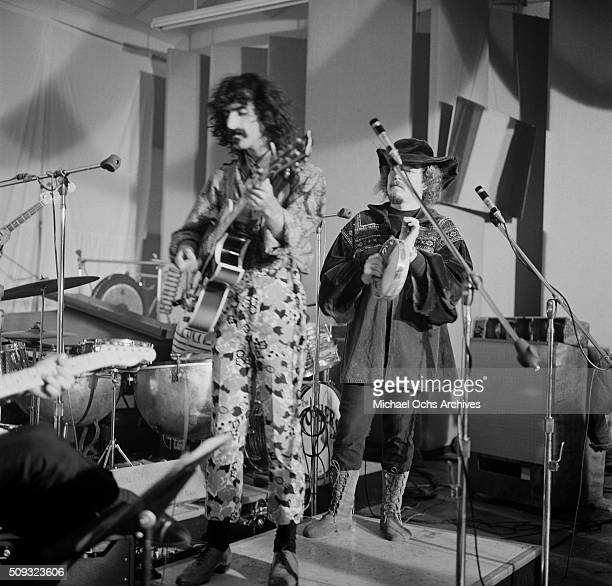 Frank Zappa and The Mothers of Invention perform the concert ' Freak Out' at Whisky A Go Go in Los AngelesCalifornia