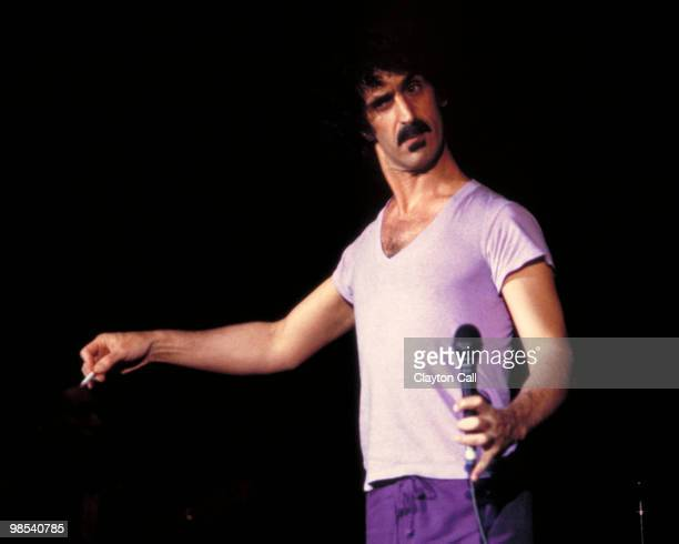 Frank Zappa performing at the Berkeley Community Theater on December 10 1981