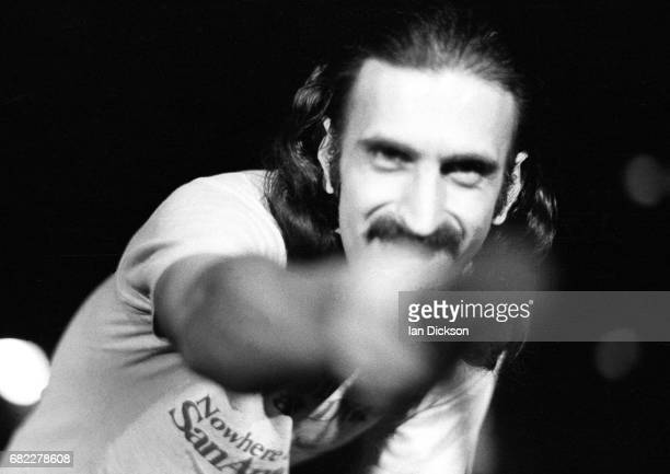 Frank Zappa performing on stage at Hammersmith Odeon London 09 February 1977