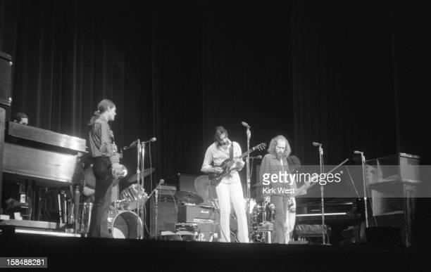 Frank Zappa performs at Auditorium Theater Chicago Illinois circa 1971