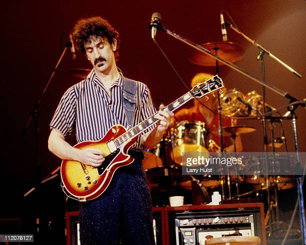 Frank Zappa performs at the Berkeley Community Center in Berkeley California on April 1 1980