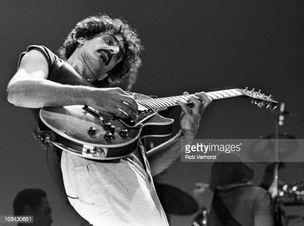 Frank Zappa performs on stage at Ahoy on 24th May 1980 in Rotterdam Netherlands