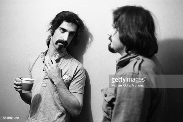Frank Zappa recording session at Apostolic Studios in the Soho section of New York on February 15 1968