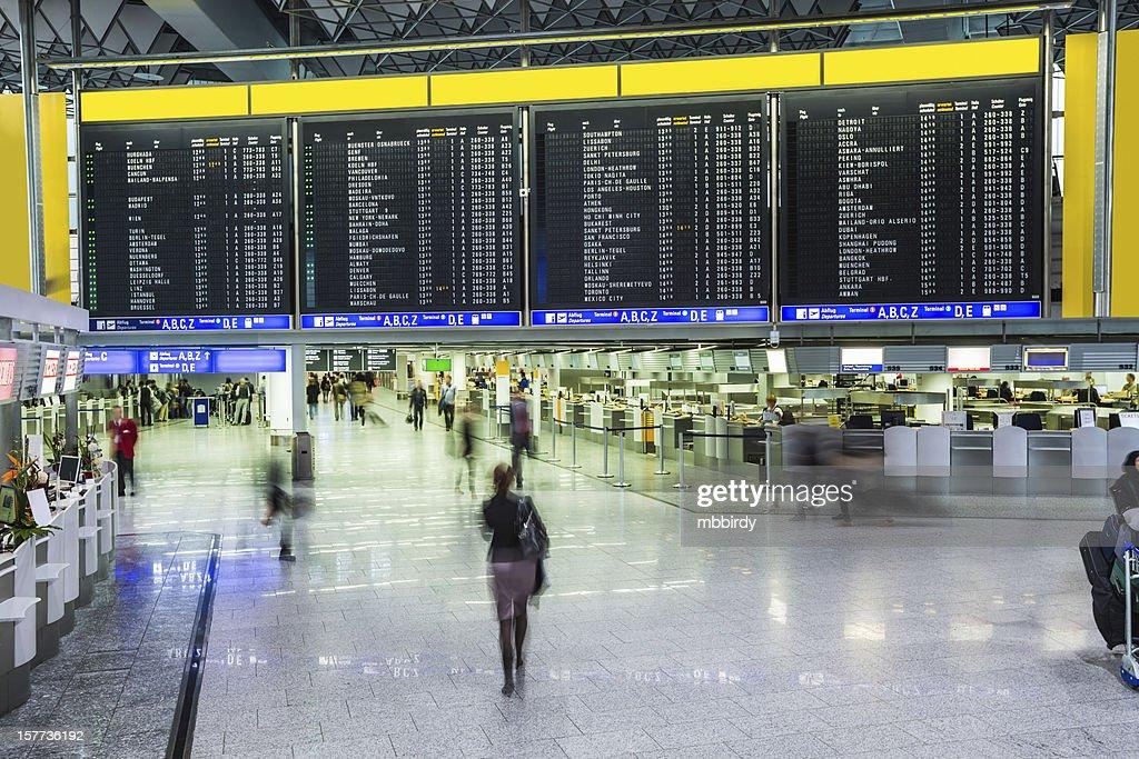 Frankfurt Airport, (Frankfurt am Main, Germany)