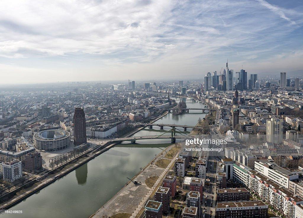 Frankfurt am Main, Aerial View