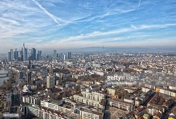 Frankfurt am Main, Luftaufnahme