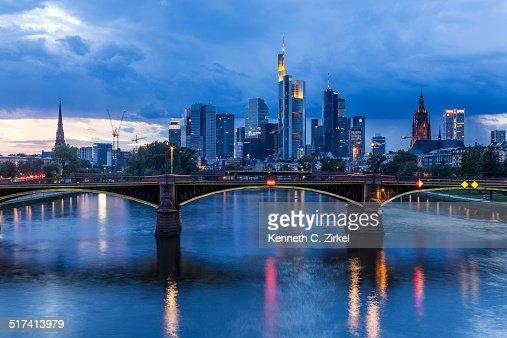 Frankfurt am Main, Germany : Stock Photo