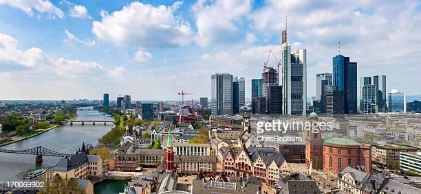 La ville de Frankfurt am Main, Allemagne