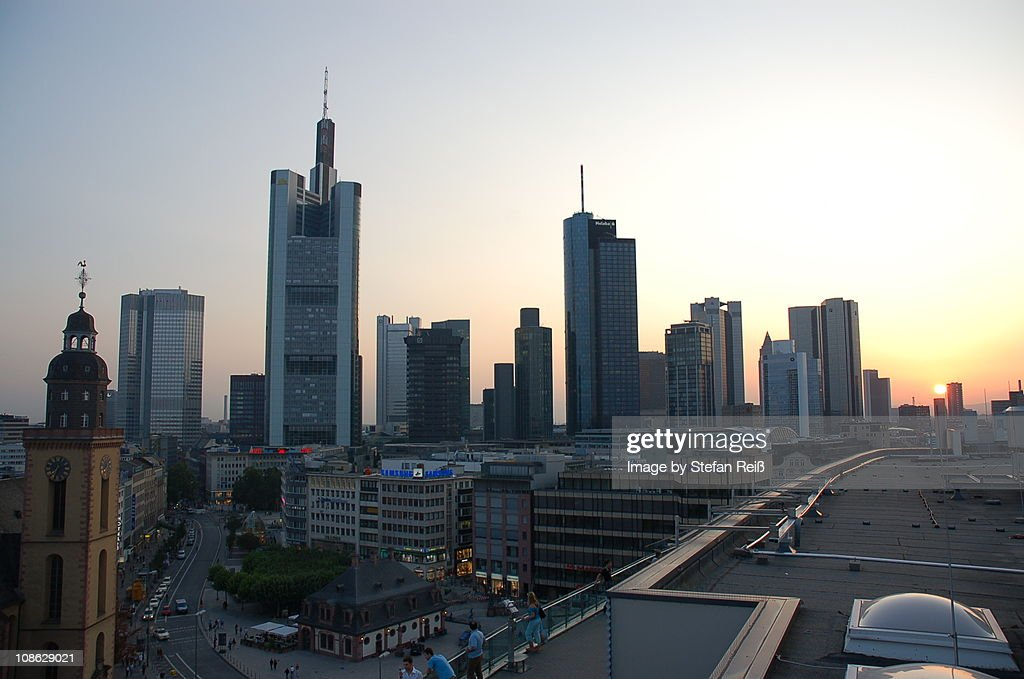 Frankfurt am Main, Skyline : Stock Photo