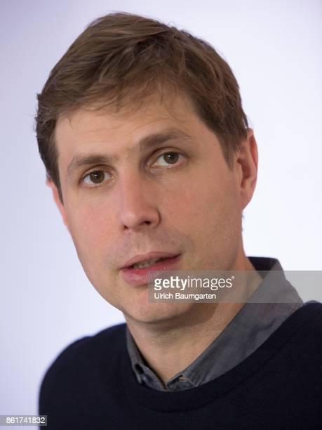 Frankfurt Book Fair 2017 Daniel Kehlmann AustrianGerman writer during an interview