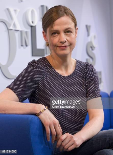 Frankfurt Book Fair 2017 Mariana Leky German writer during an interview