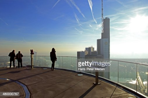 Frankfurt, Main, Maintower, observation desk