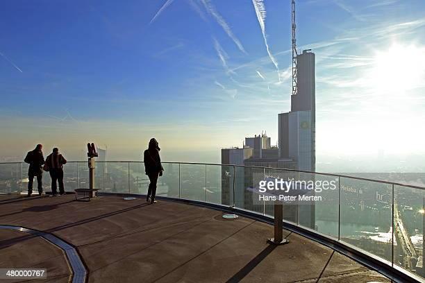 Frankfurt, Main, Maintower, observation desk