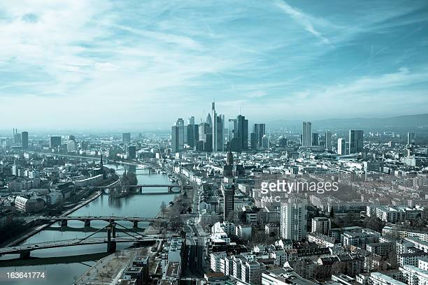 Frankfurt, Skyline, Germany