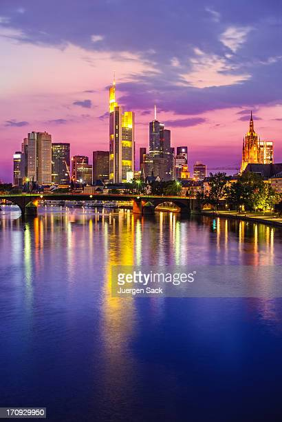 Frankfurt Twilight