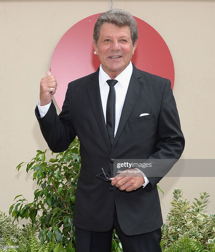 <a gi-track='captionPersonalityLinkClicked' href=/galleries/search?phrase=Frankie+Avalon&family=editorial&specificpeople=223972 ng-click='$event.stopPropagation()'>Frankie Avalon</a> attends a special stage rededication ceremony for Annette Funicello hosted by The Walt Disney Company at Walt Disney Studios on June 24, 2013 in Burbank, California.
