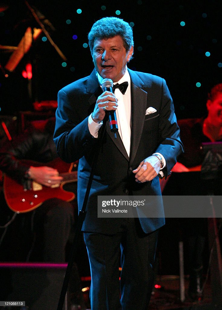 Frankie Avalon during Dick Fox's Golden Boys Starring Frankie Avalon, Fabian and Bobby Rydell in Concert - January 6, 2006 at Harrah's Showroom in Atlantic City, New Jersey, United States.