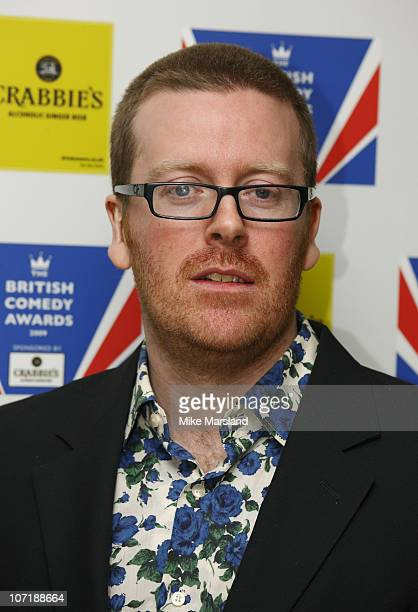 Frankie Boyle attends the British Comedy Awards on December 12 2009 in London England