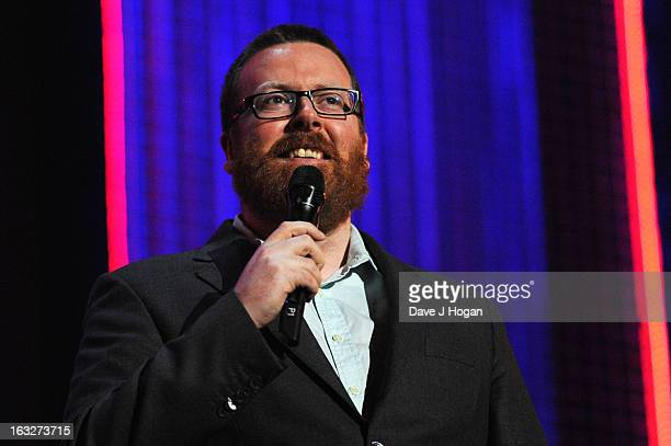 Frankie Boyle performs onstage for 'Give It Up For Comic Relief' at Wembley Arena on March 6 2013 in London England