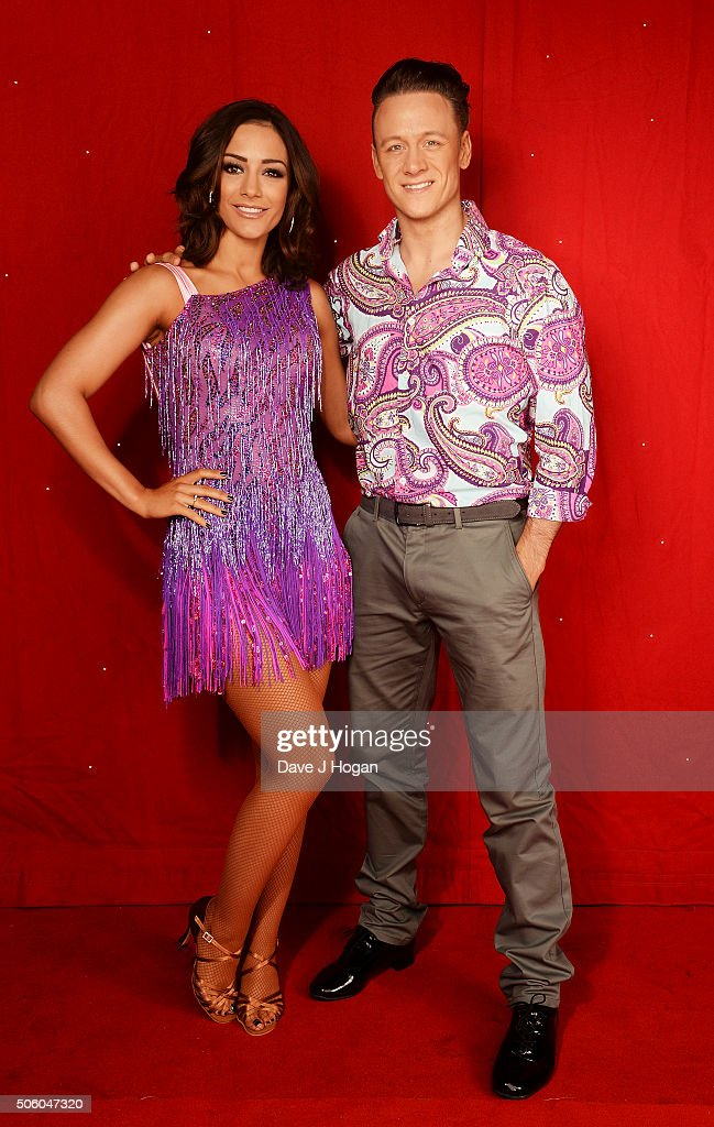 Frankie Bridge and Kevin Clifton backstage at the Strictly Come Dancing Live Tour rehearsals Strictly Come Dancing Live Tour opens tomorrow 22nd...