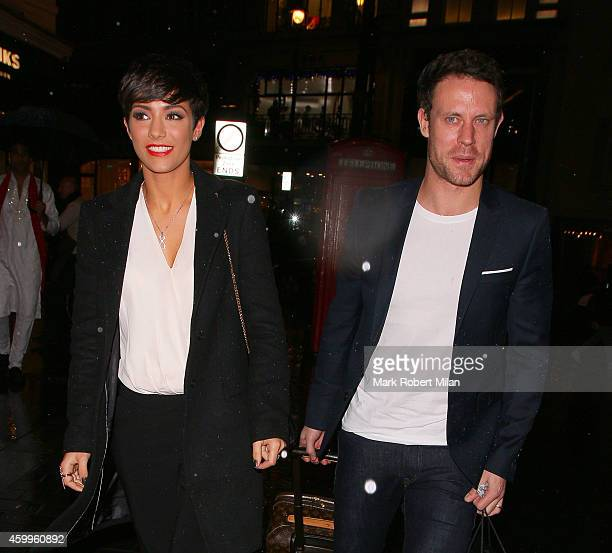Frankie Bridge and Wayne Bridge attending the Thomas Sabo flagship store grand opening on December 4 2014 in London England