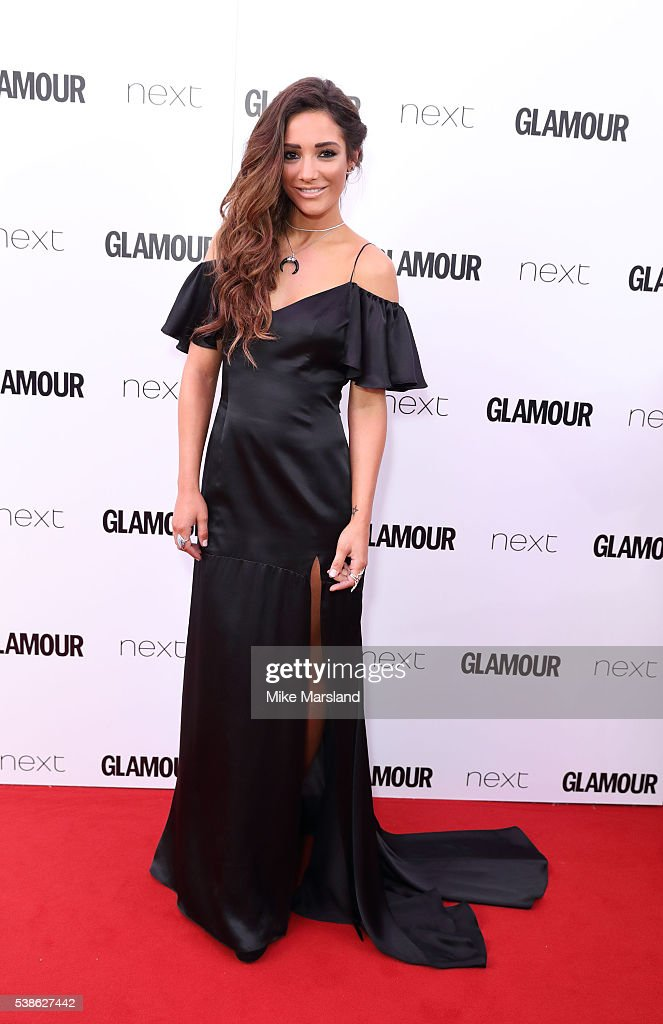 Frankie Bridge arrives for the Glamour Women Of The Year Awards on June 7 2016 in London United Kingdom