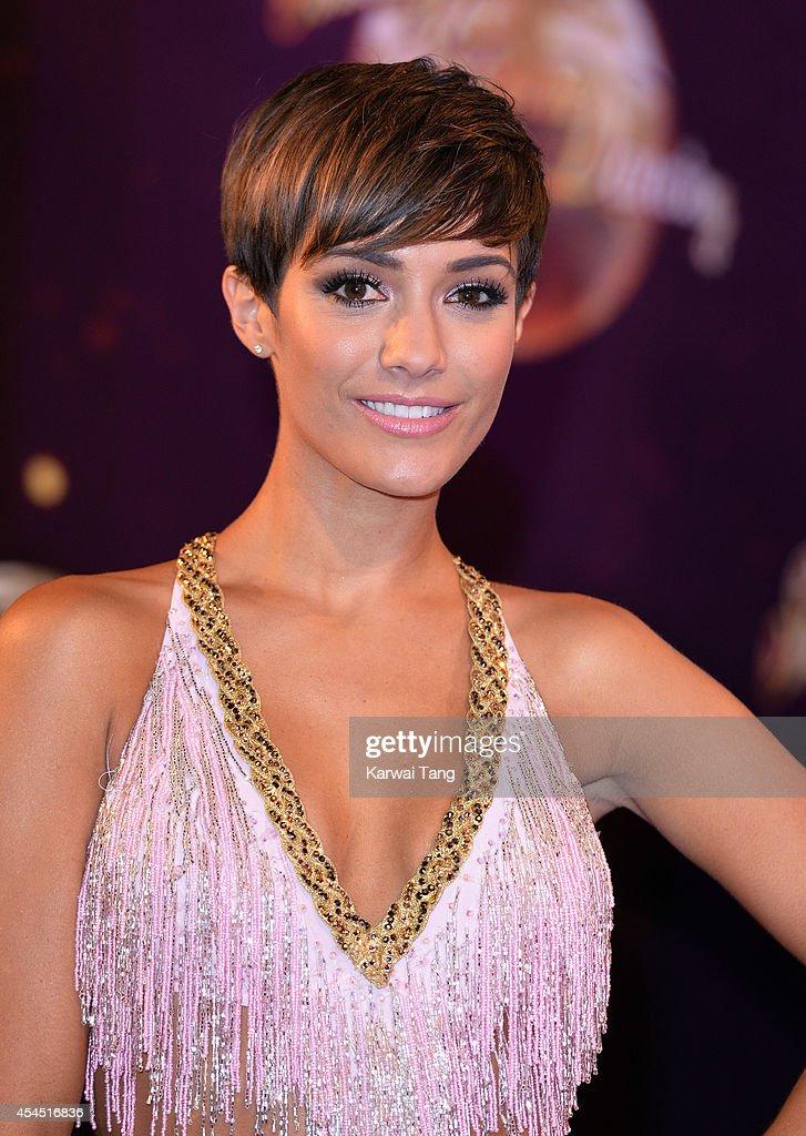 Frankie Bridge attends the red carpet launch for Strictly Come Dancing 2014 at Elstree Studios on September 2, 2014 in Borehamwood, England.