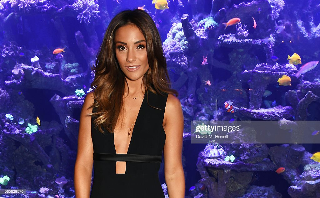 Frankie Bridge attends the Thomas Sabo launch dinner where she was announced as the new UK Ireland Brand Ambassador at Sexy Fish on August 4 2016 in...