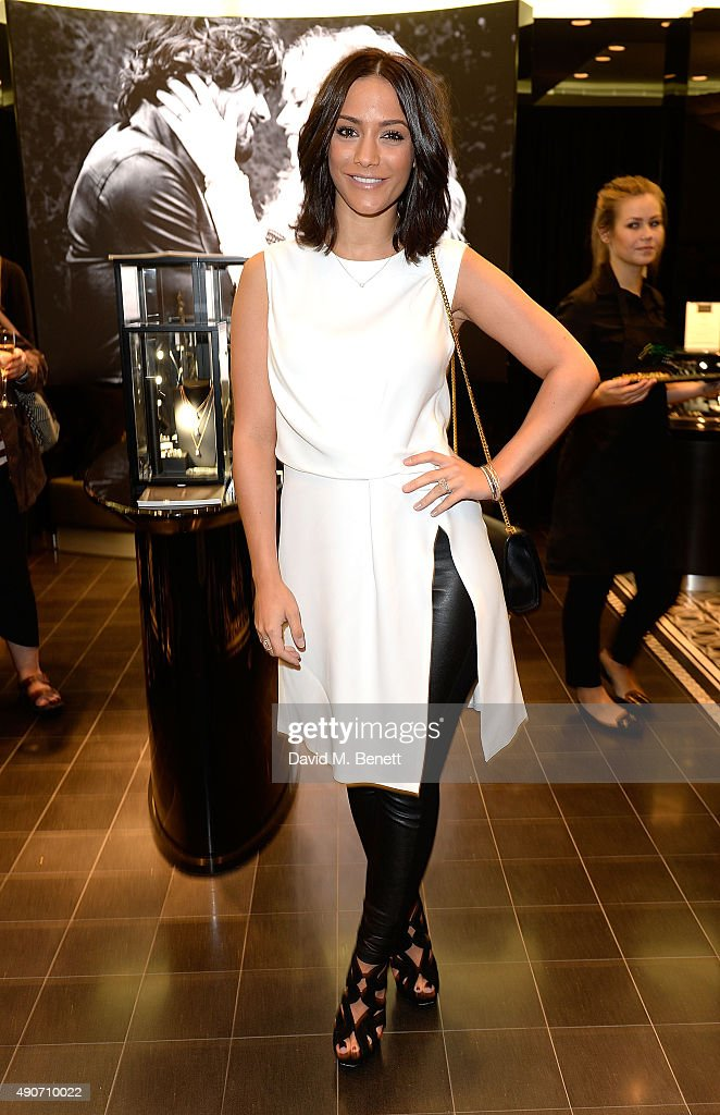 Frankie Bridge attends the Thomas Sabo Professional Player Magazine Cocktail Collection Launch on September 30 2015 in London England