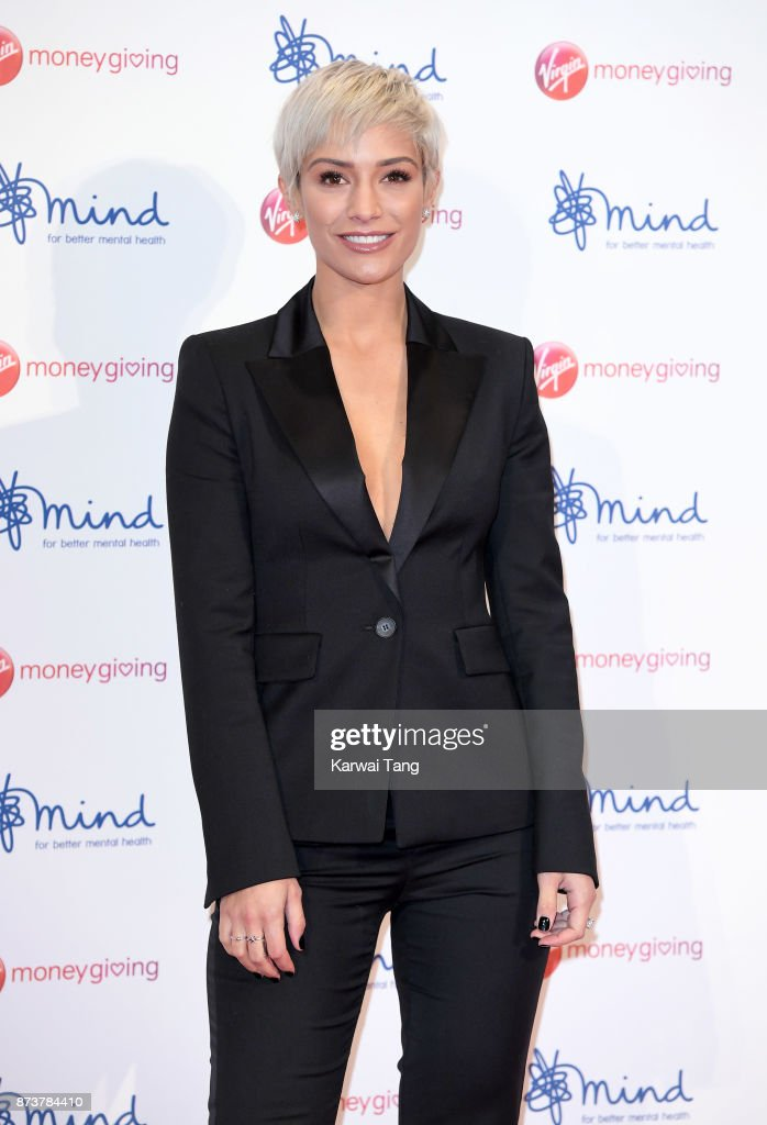 Frankie Bridge attends the Virgin Money Giving Mind Media Awards at Odeon Leicester Square on November 13, 2017 in London, England.