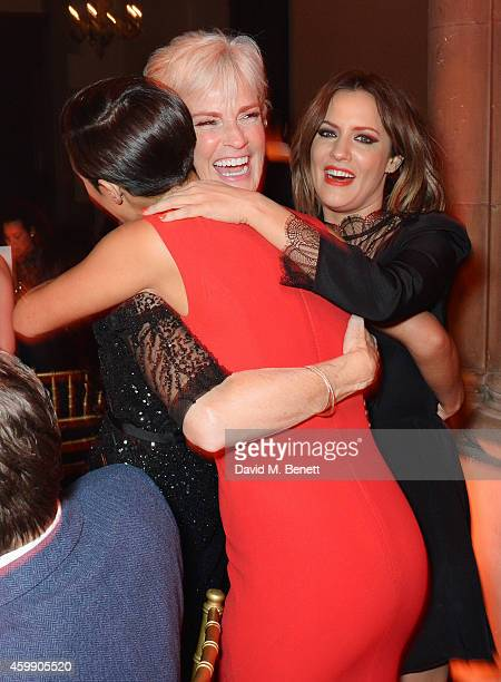 Frankie Bridge Judy Murray and Caroline Flack attend the Cosmopolitan Ultimate Women of the Year Awards at One Mayfair on December 3 2014 in London...