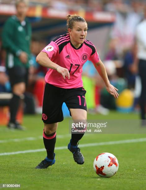 Frankie Brown of Scotland Women during the UEFA Women's Euro 2017 match between England and Scotland at Stadion Galgenwaard on July 19 2017 in...