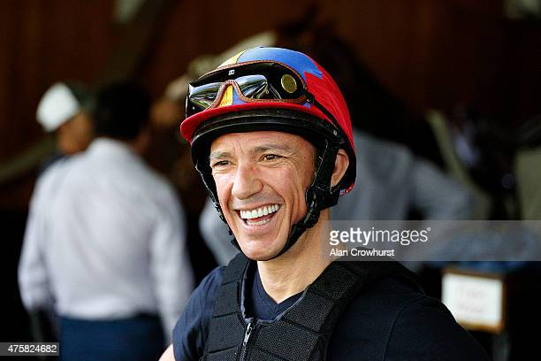 Frankie Dettori smiles at Ascot racecourse on June 04 2015 in Ascot England