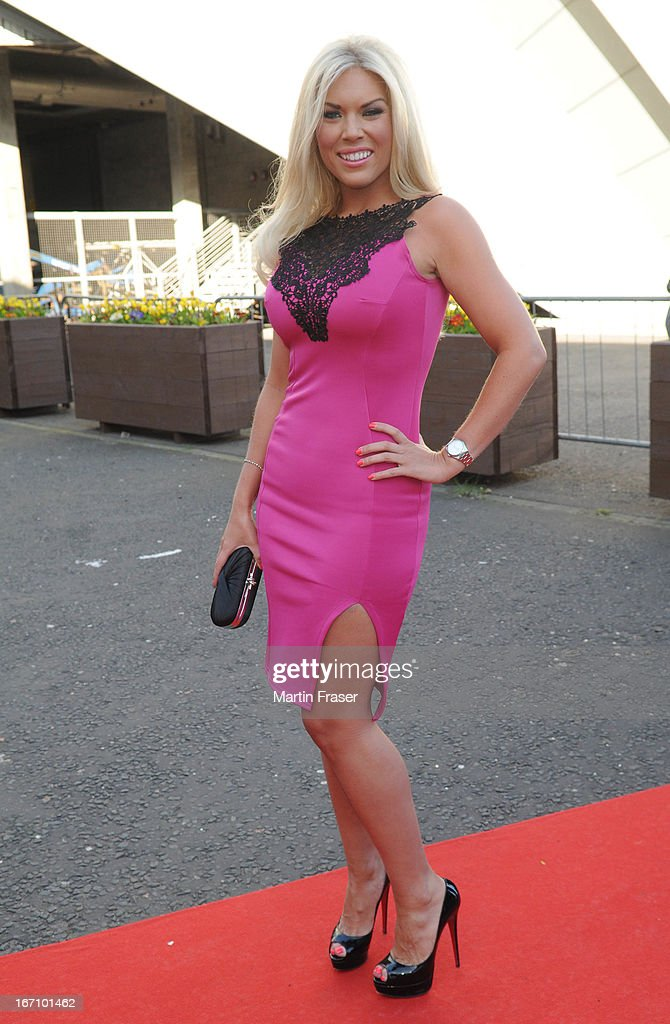 Frankie Essex attends the Young Scot Awards 2013 at Crowne Plaza on April 19, 2013 in Glasgow, Scotland.