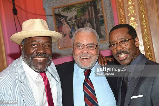 Frankie Faison James Earl Jones and Courtney B Vance attend the 2013 Inclusion In The Arts' Champion Of Diversity Award presentation on July 9 2013...