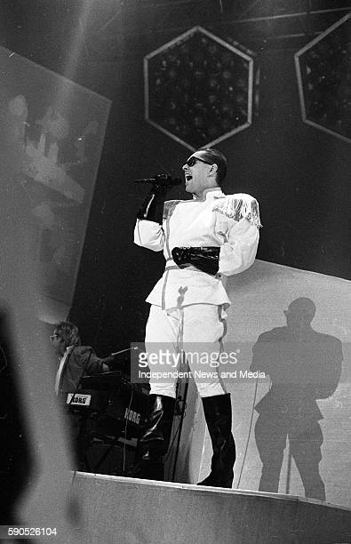 Frankie Goes To Hollywood in concert at the RDS in Dublin