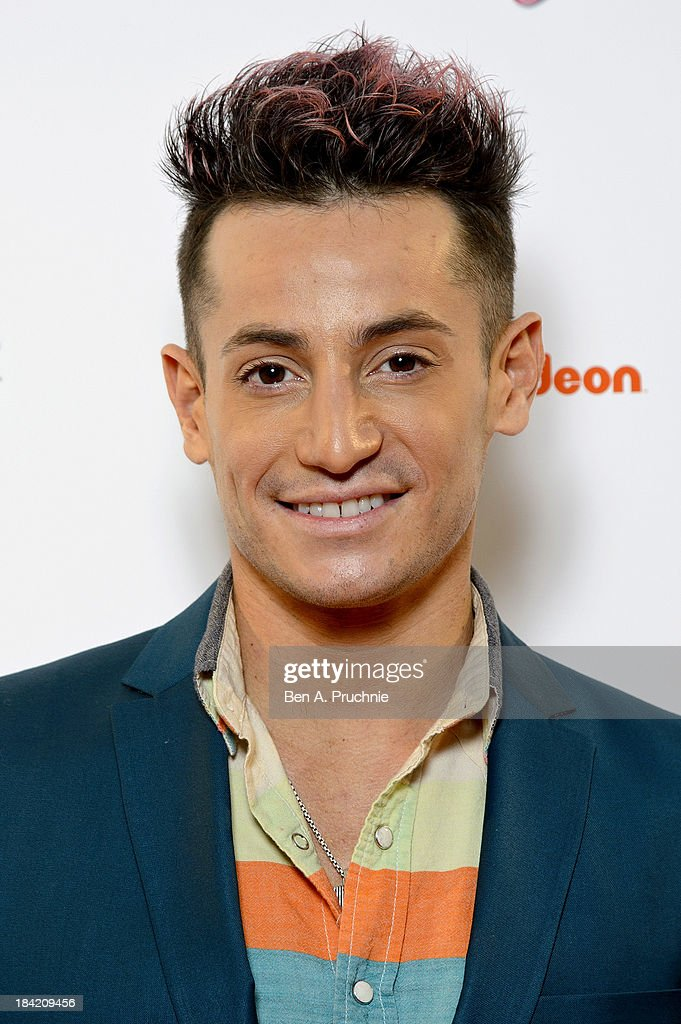 Frankie Grande attends the UK Premiere of Sam & Cat at Cineworld 02 Arena on October 12, 2013 in London, England.