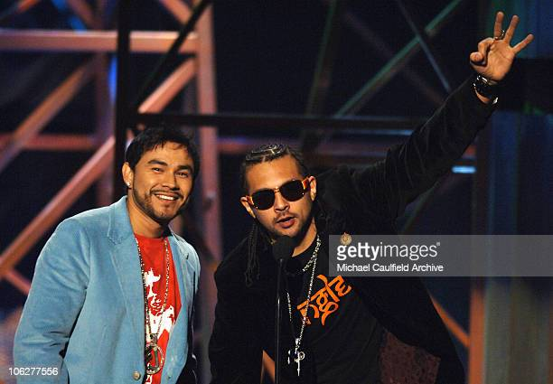 Frankie J and Sean Paul presenters Urban and Rhythmic Radio Song of the Year