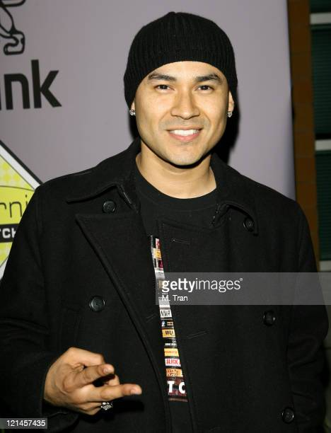 Frankie J during The Boyle Heights Music and Arts Program Launch Arrivals at Boyle Heights School in Los Angeles California United States