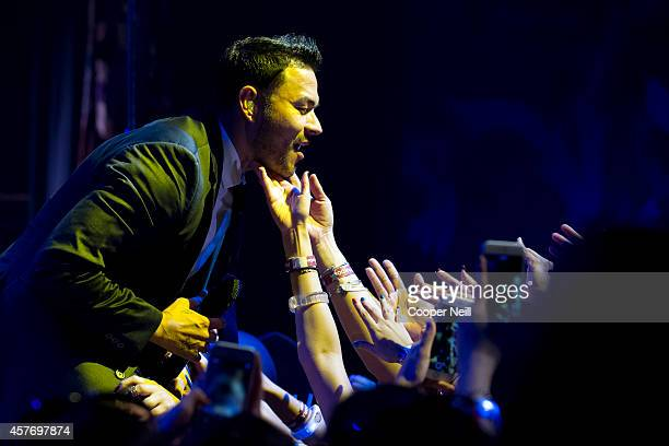Frankie J performs during the Dr Pepper One Of A Kind Concert Powered by Pandora at the House of Blues on October 22 2014 in Dallas Texas