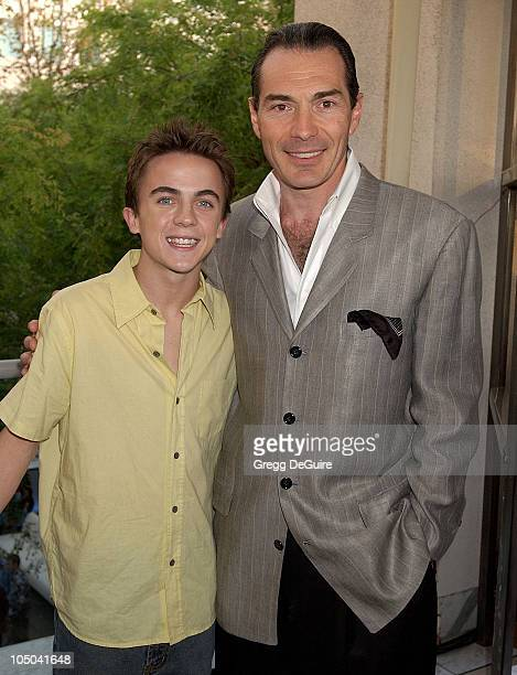 Frankie Muniz and Alex Yemenidjian Chairman of MGM