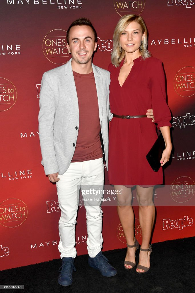 Frankie Muniz and Paige Price attend People's 'Ones To Watch' at NeueHouse Hollywood on October 4, 2017 in Los Angeles, California.
