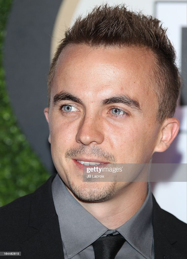 <a gi-track='captionPersonalityLinkClicked' href=/galleries/search?phrase=Frankie+Muniz&family=editorial&specificpeople=202964 ng-click='$event.stopPropagation()'>Frankie Muniz</a> attends the Muhammad Ali's Celebrity Fight Night XIX held at JW Marriott Desert Ridge Resort & Spa on March 23, 2013 in Phoenix, Arizona.